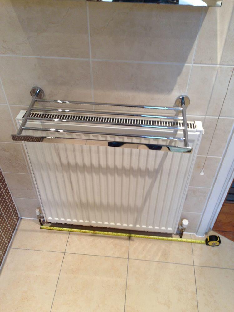 Change Radiator For Towel Rail Plumbing Job In