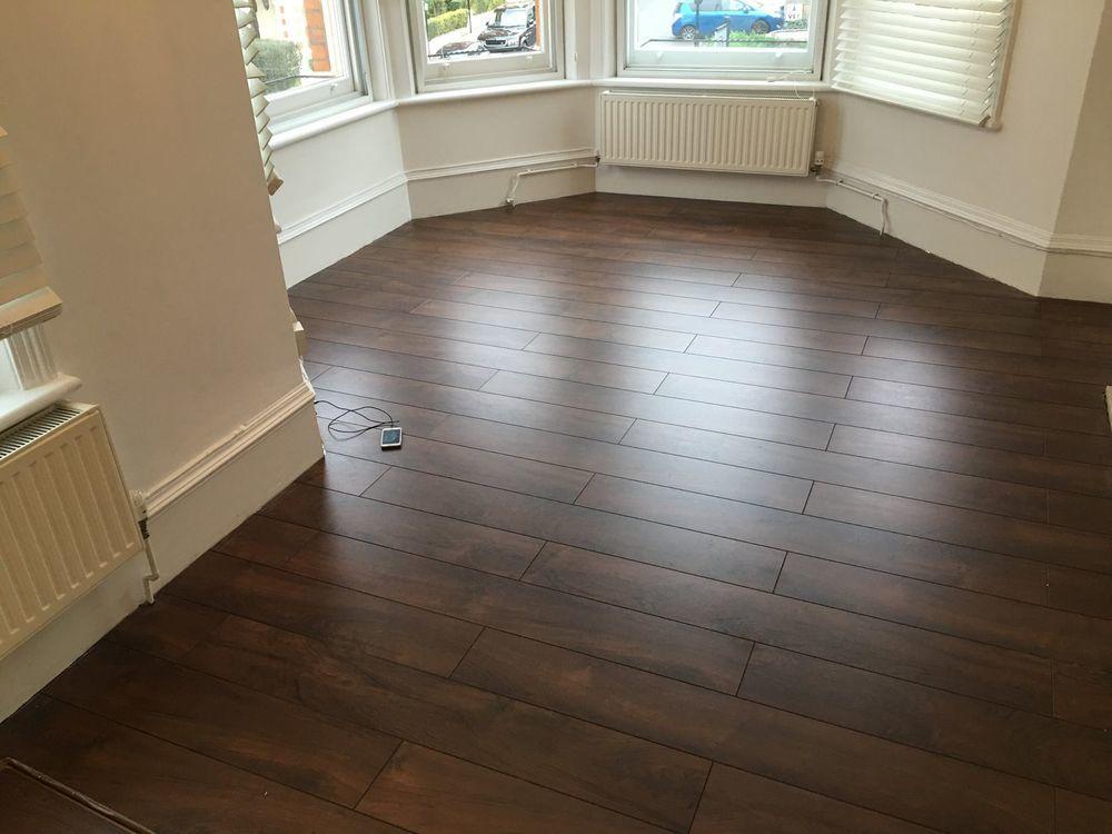 Irefurb london 100 feedback painter decorator for Laminate flooring london