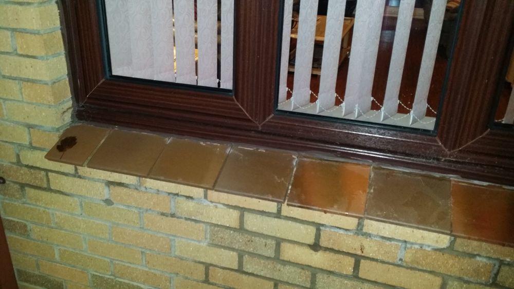 General Repairs Window Sill Tiles Trim Bricklaying Job