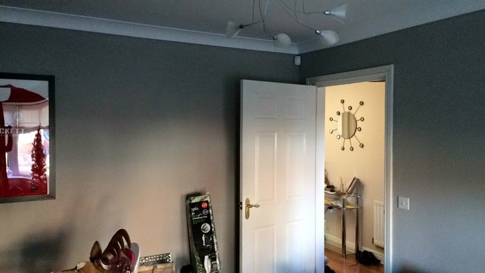 Room needing painting and decorating Painting Decorating job in