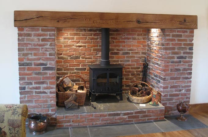 Brick fireplace Bricklaying job in Walsall West