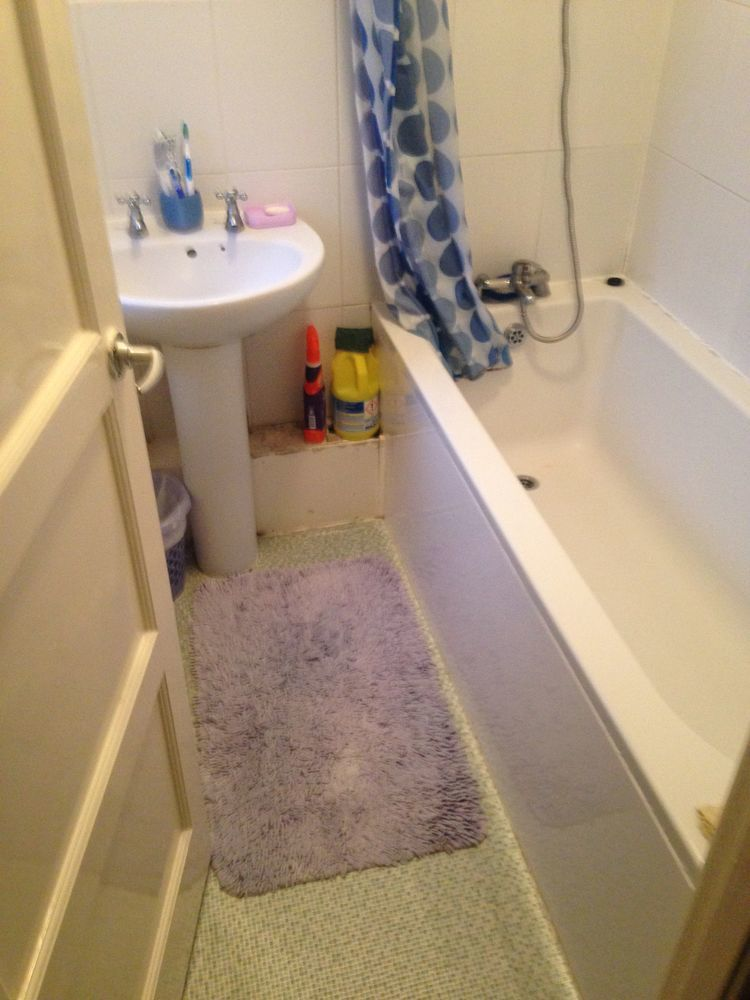 Bathroom leak plumbing job in oxford oxfordshire for Leaked bathroom photos