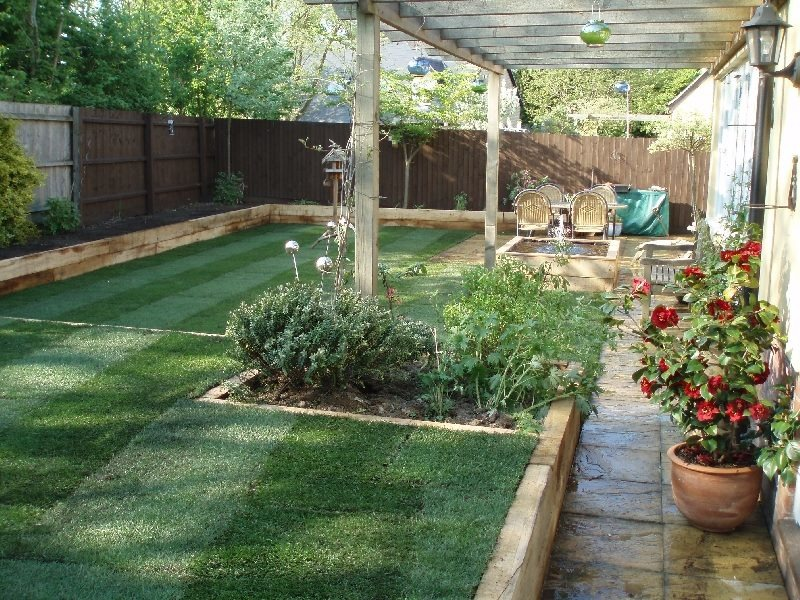 Rm landscapes design 89 feedback landscape gardener for Ideas for landscaping large areas