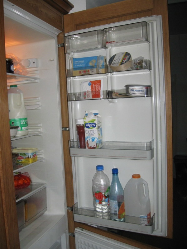 Replace Hinges On Neff Integrated Fridge Freezer Kitchen