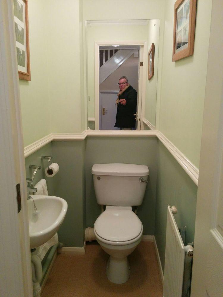 downstairs toilet    cloakroom refit