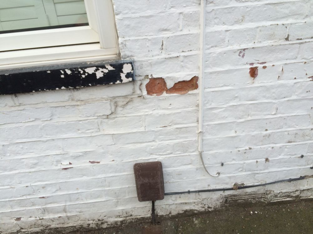 Removing Paint From A Brick Wall 5x 10 Meters Restoration Refurbishment Job In South Ealing