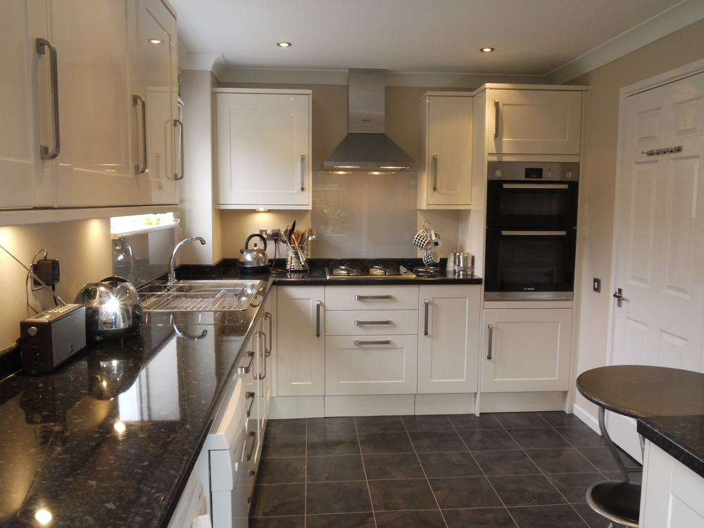 Southwood home improvements ltd 100 feedback bathroom for Black kitchen wall units