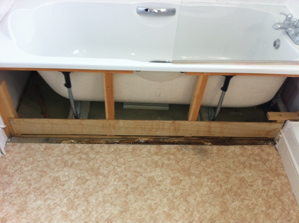 Bath Re Level Install New Mixer Tap And Reseal Bathroom