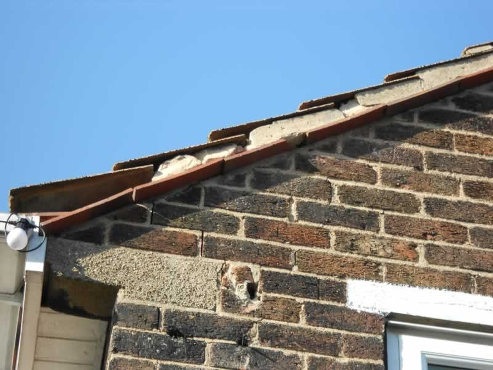 Roofing Gable End Repair Roofing Job In Doncaster South