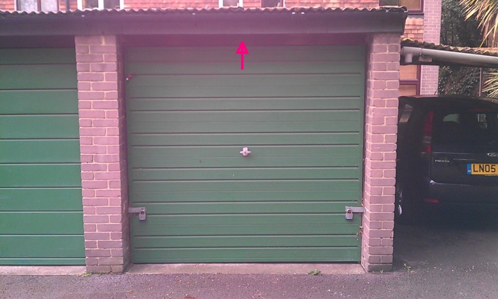 Garage Door Extra Lock Security Systems Job In Greenwich
