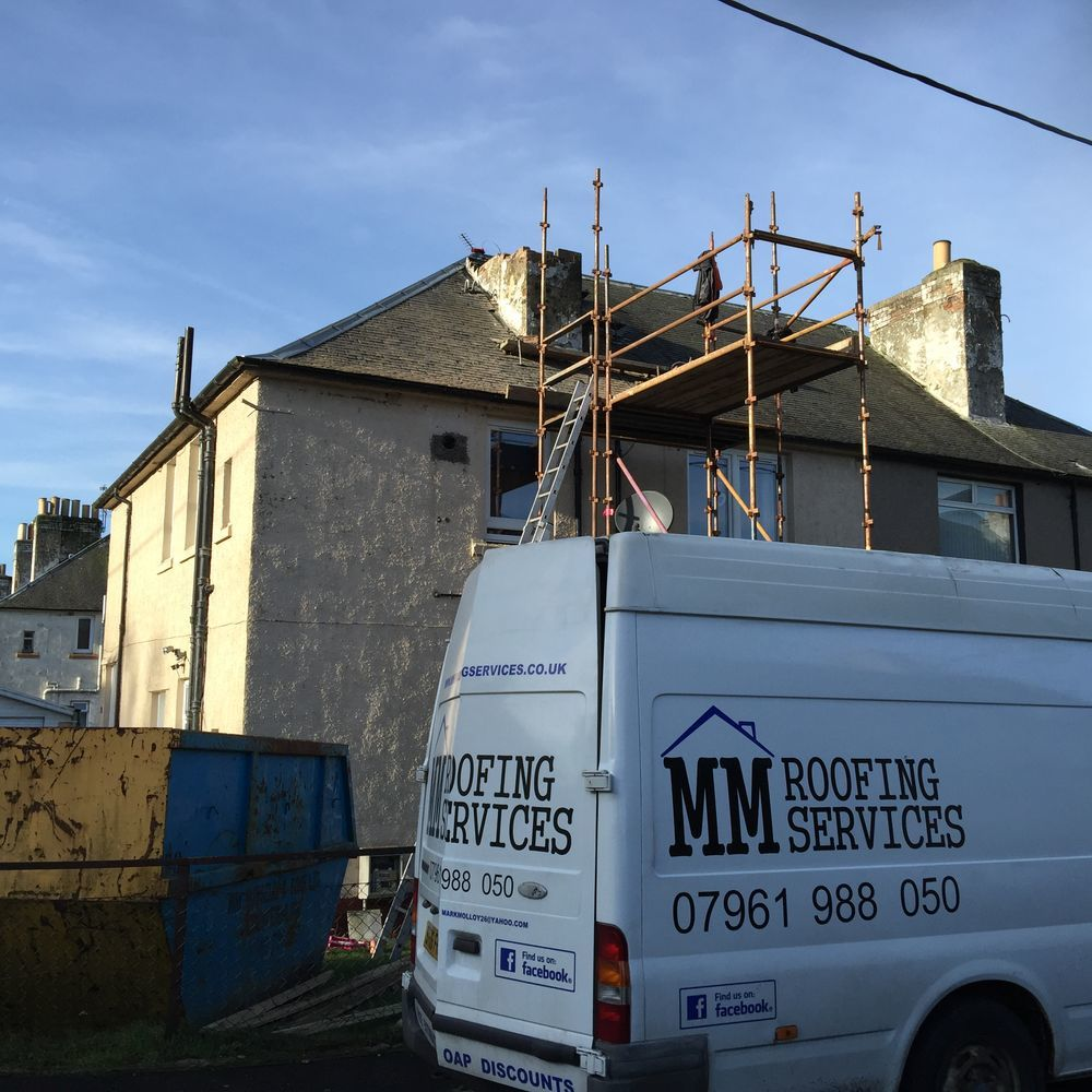 Mm Roofing Services 100 Feedback Roofer In Dunfermline