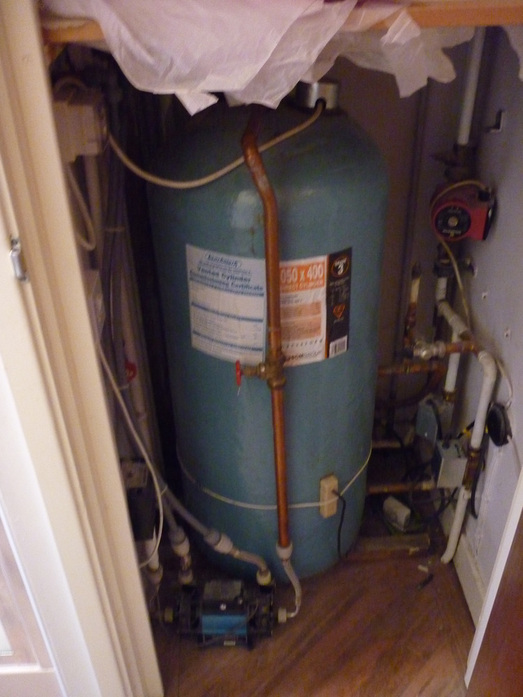 Remove boiler and hot water tank install Combi - Central Heating job ...