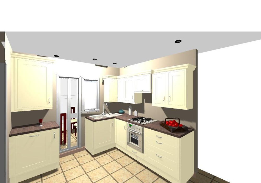 Kitchen fitting b q units approx 3m x kitchen for Kitchen ideas 5m x 3m