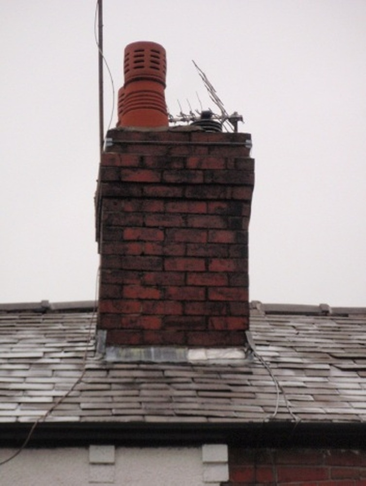Chimney Flashing Bargeboard Replacement Tiles Roofing