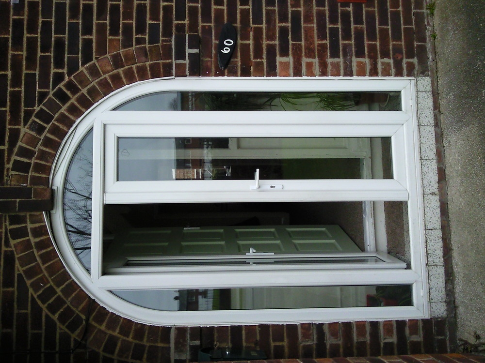 Front Door And Side Panels Windows Job In Manchester