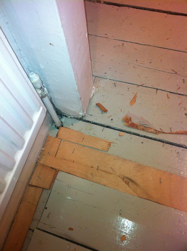 Uneven Floor Boards Flooring Job In Holloway North