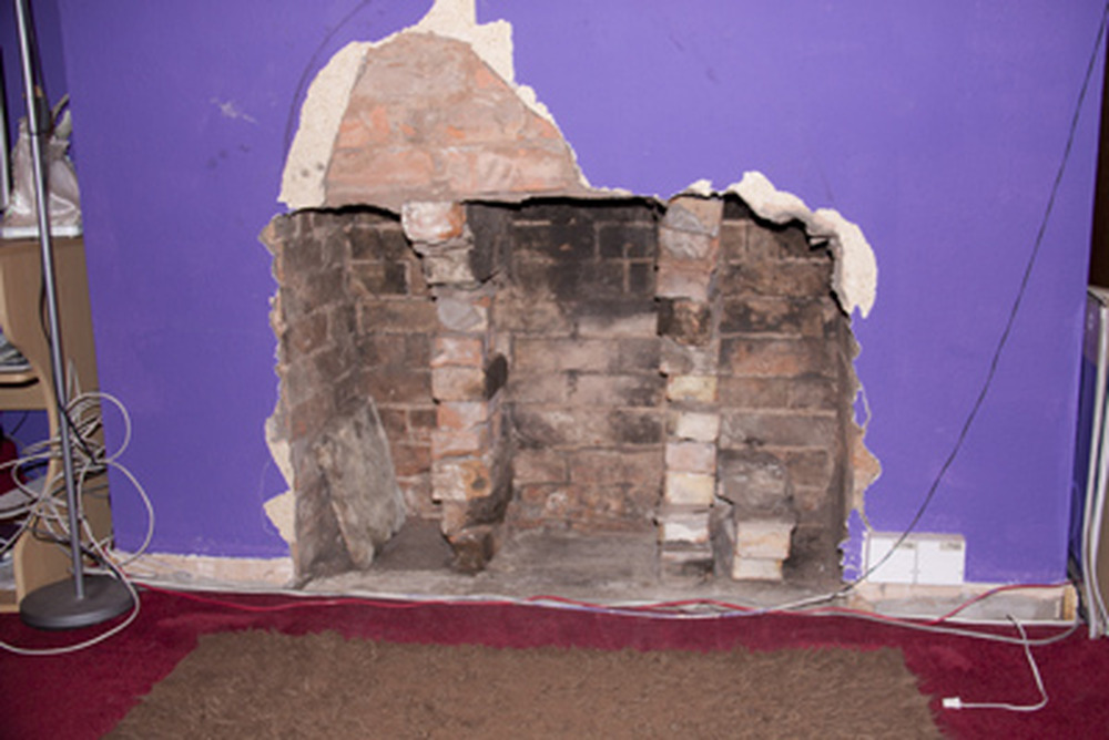 Fit A Lintel In A Chimneyplace And Some Plastering Chimneys Fireplaces Job In Tamworth