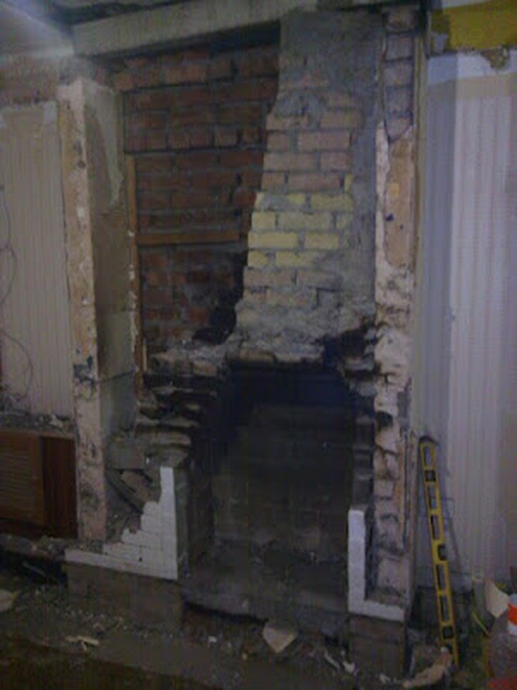 Rebuild Chimney Breast Chimneys Fireplaces Job In Cardiff