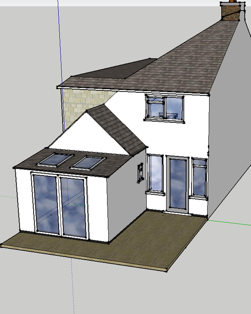 4m X 3m Single Storey Kitchen Extension Extensions Job