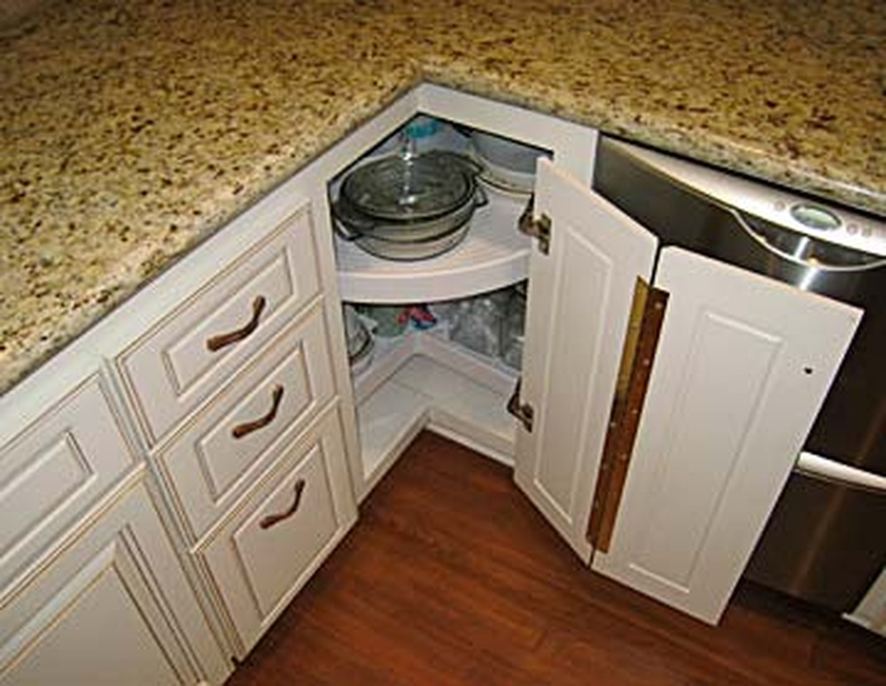 awesome Corner Unit Kitchen Cabinet #1: Perfect Corner Kitchen Cabinet ...