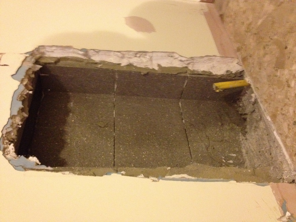 Fireplace Design removing fireplace : Removal of gas fireplace, re-plaster - Chimneys & Fireplaces job ...