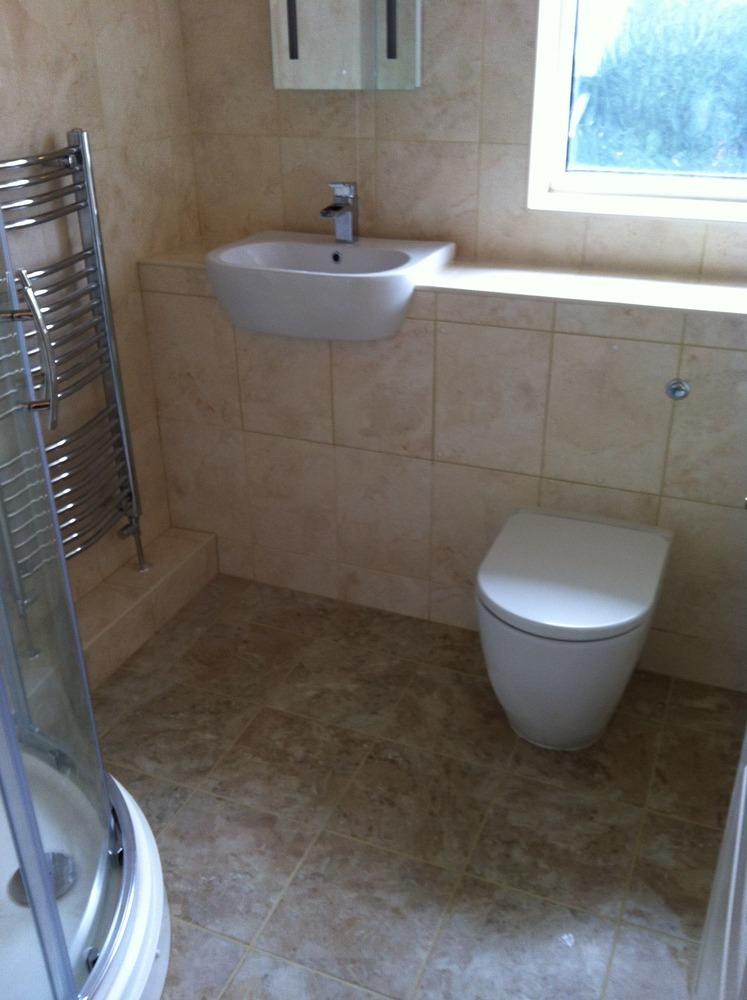 B c bathroom tiling specialist 100 feedback bathroom for Full bathroom installation