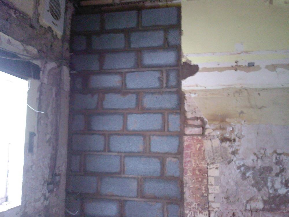 Image Number 26 Of Brick Up Doorway . & Brick Up Doorway \u0026 The Doorway To The House Has Now Been Totally ... Pezcame.Com