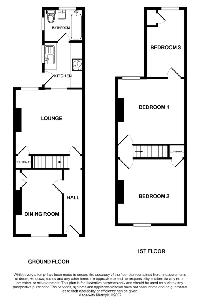 Victorian terraced house plans for Floor plans terraced house