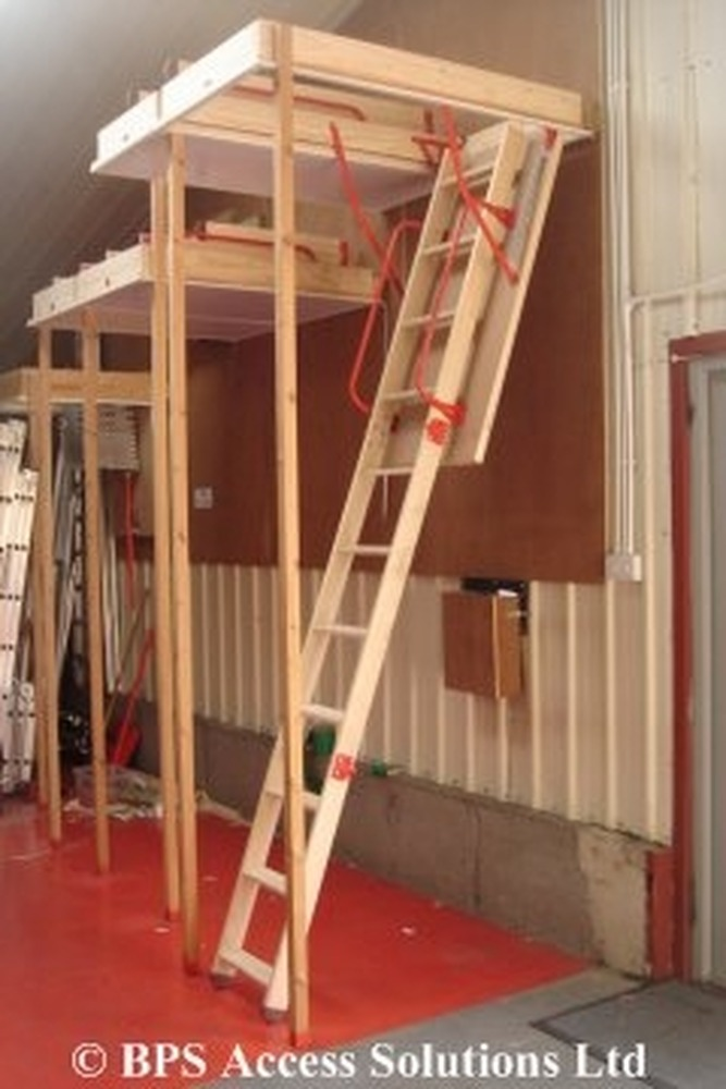 Extending Loft Hatch And Installing Loft Ladder