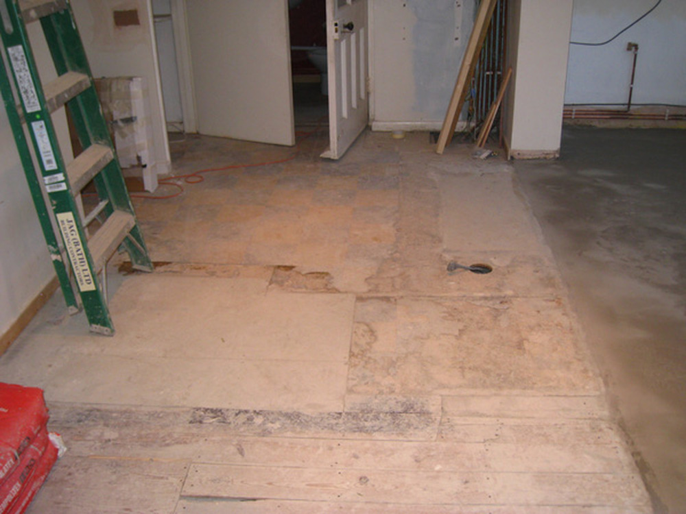 Replace Old Chipboard Floor With New Chipboard Floor