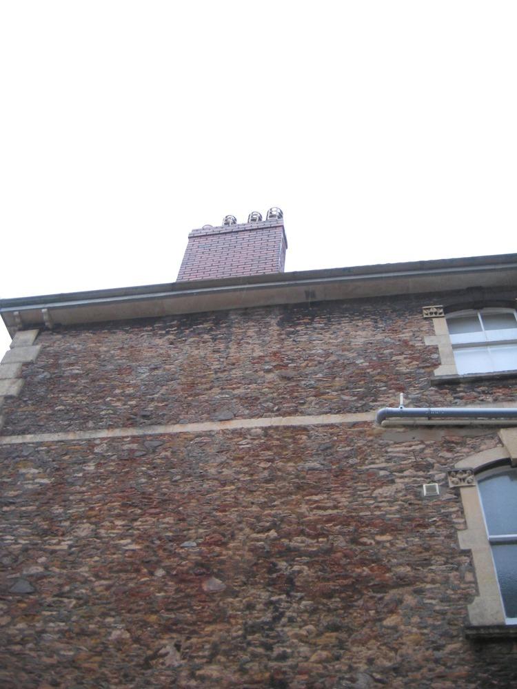 Drop 18 Meters Of Flue Liner Down Chimney Chimneys