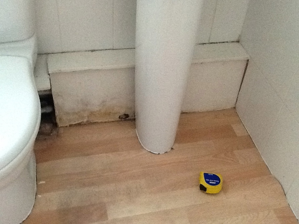 Bathroom Toilet And Sink Boxing Carpentry Amp Joinery Job