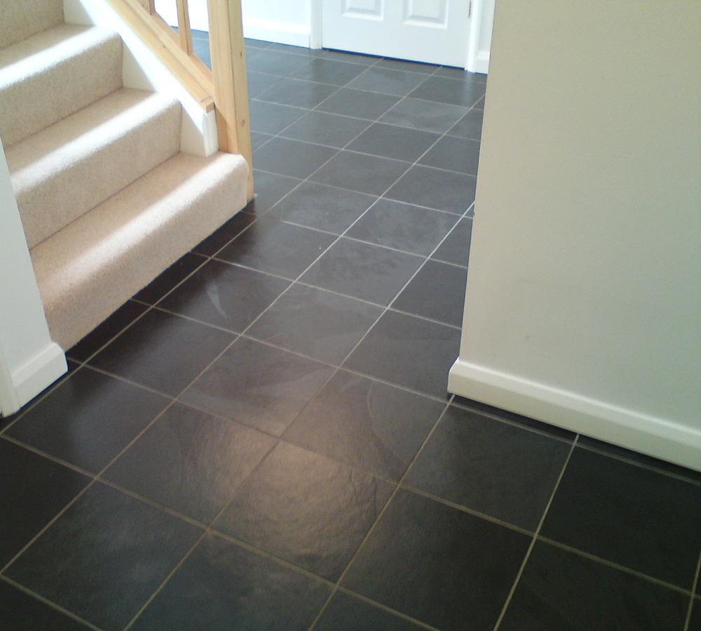 Bathroom with slate floor - The Stone Tile Emporium Ltd Tiler Flooring Fitter