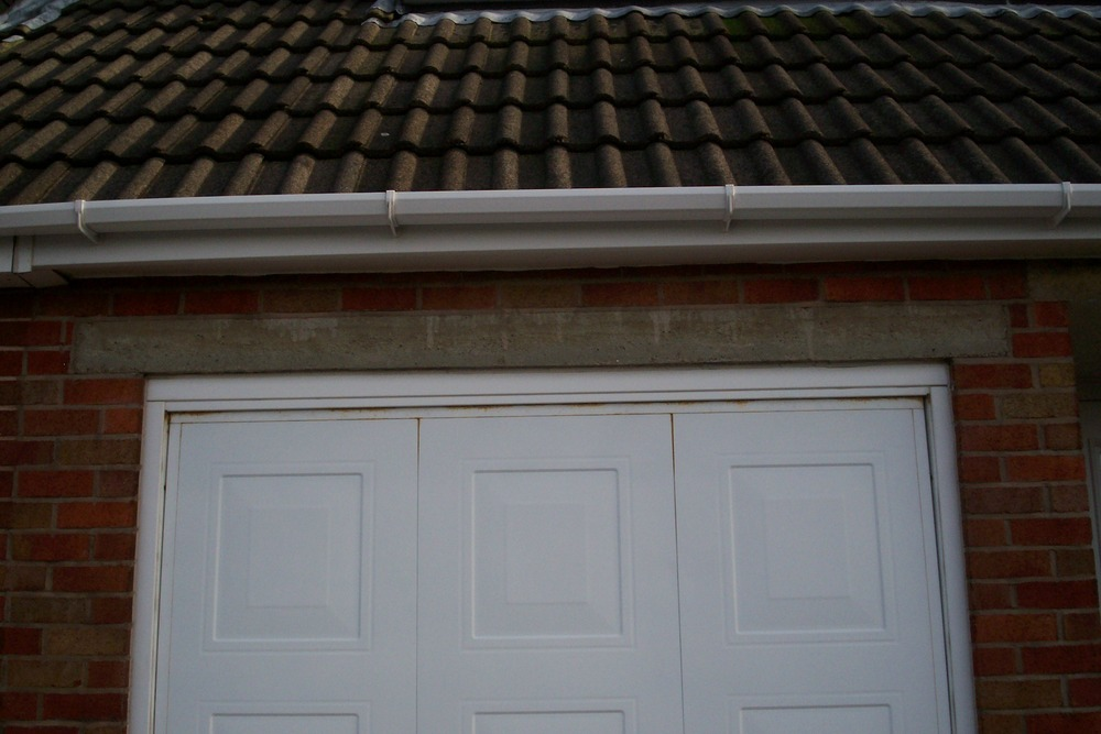 Partial Brickup The Garage Door Opening Lintel Mods