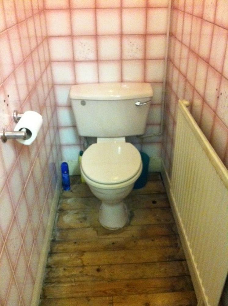 Installing a bathroom sink