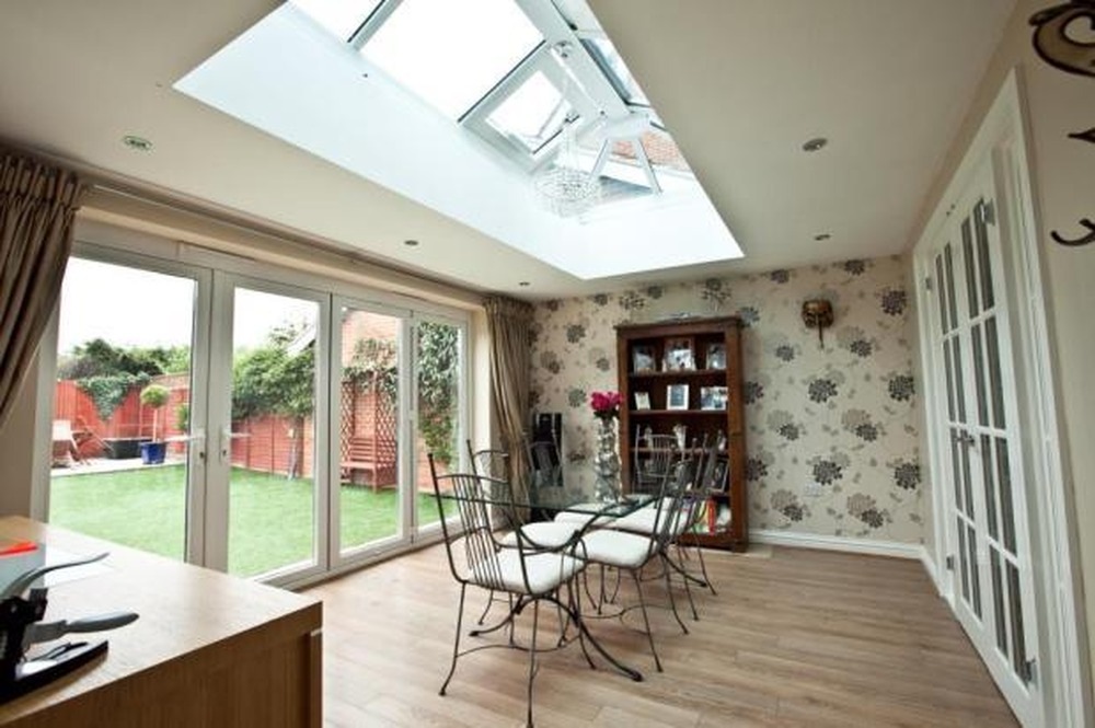 Extension to living kitchen room 5 7 x extensions for Living room 6m