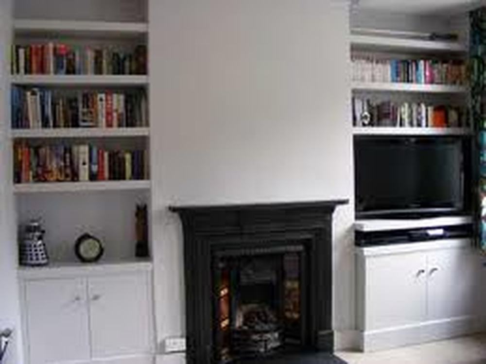 Shelve Alcove And Install Cupboard Doors Carpentry