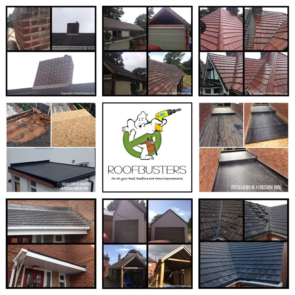 Roof Busters 100 Feedback Flat Roofer In Rugeley
