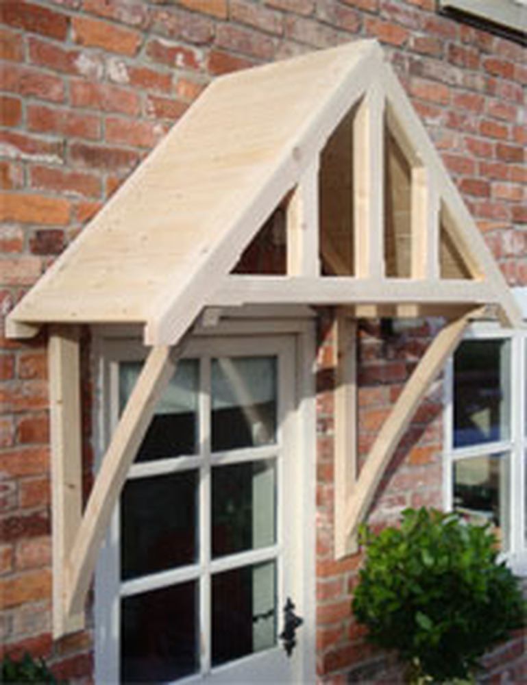 Front Door Canopy Carpentry Amp Joinery Job In Crawley