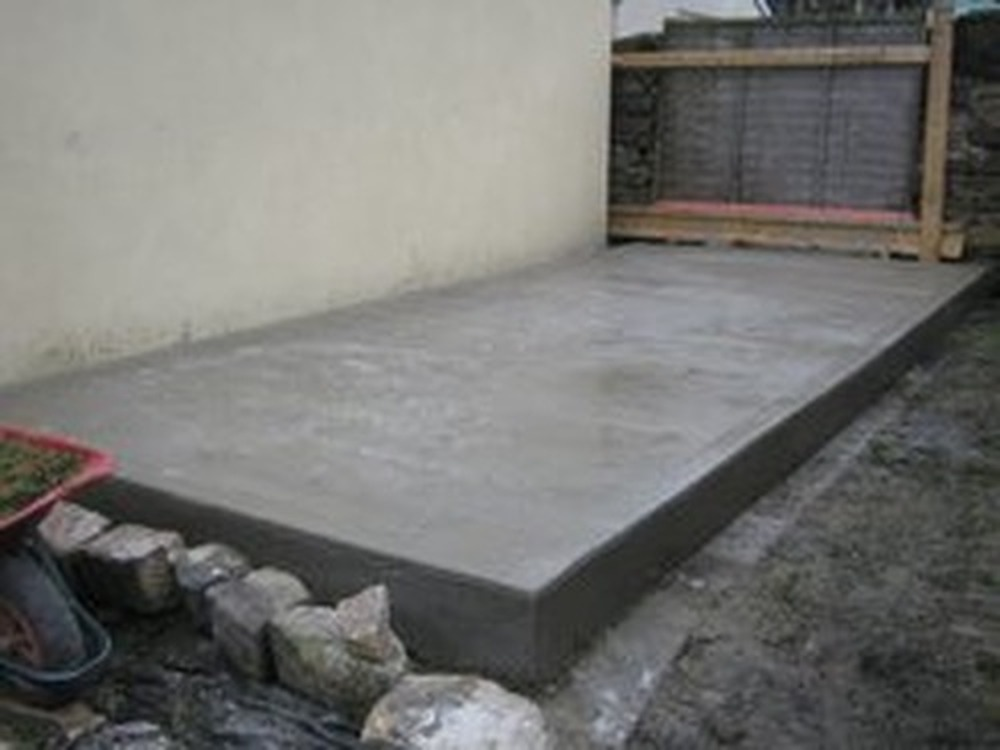 Dg groundwork 100 feedback driveway paver groundworker Base for concrete driveway