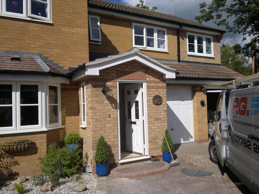 Rg carpentry and building 24hr locksmith 100 feedback for Front porch extension
