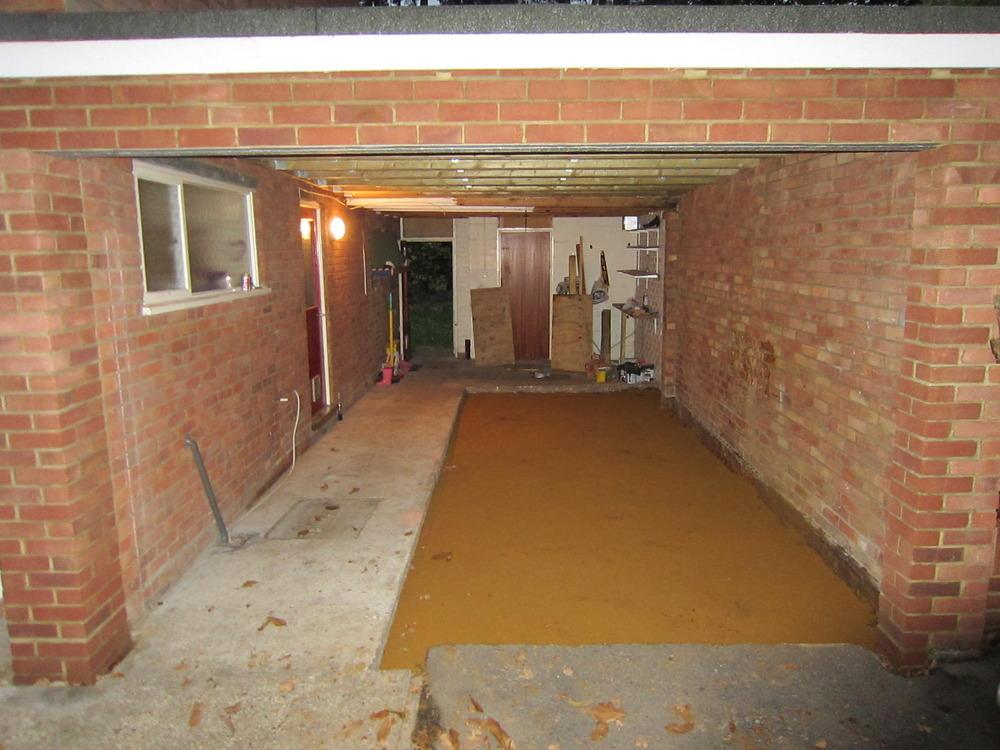 Garage Floor Level Concrete Amp Screed Garages Amp Sheds Job
