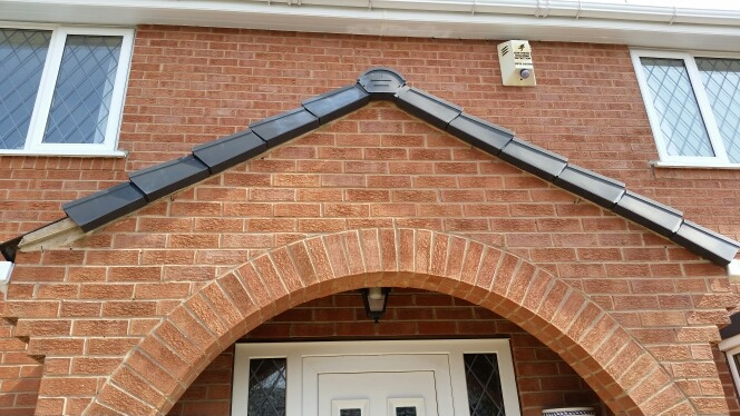 To Replace Dry Verge Caps To A Porch S Gable End