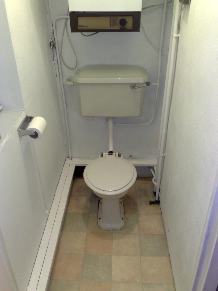 New Combi Boiler Radiators Toilet Basin Plumbing Job