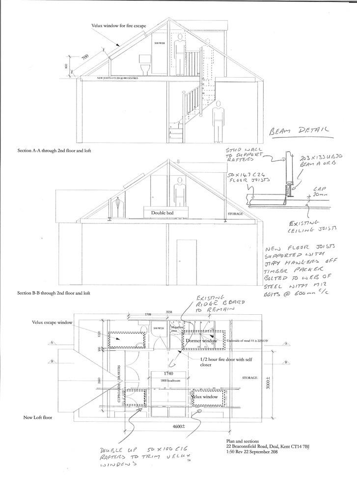 Loft Conversion With Two Rear Dormer Windows Loft