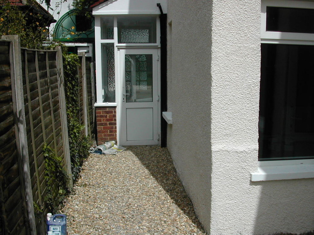Replace Porch To Side Of Victorian Semi Conservatories