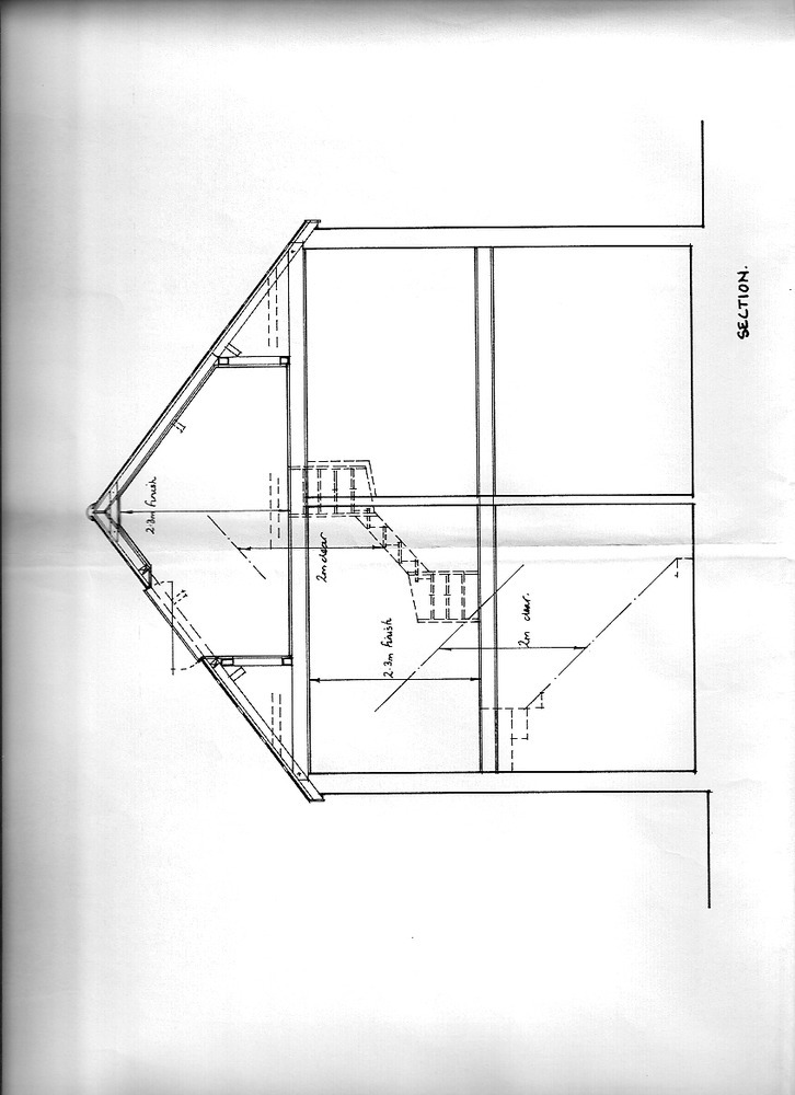 Loft Conversion plans Supplied Conversions Job In