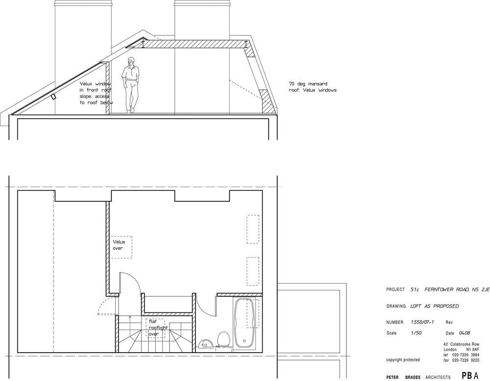 Loft Conversion With Rear Mansard Roof Loft Conversions Job In Highbury North