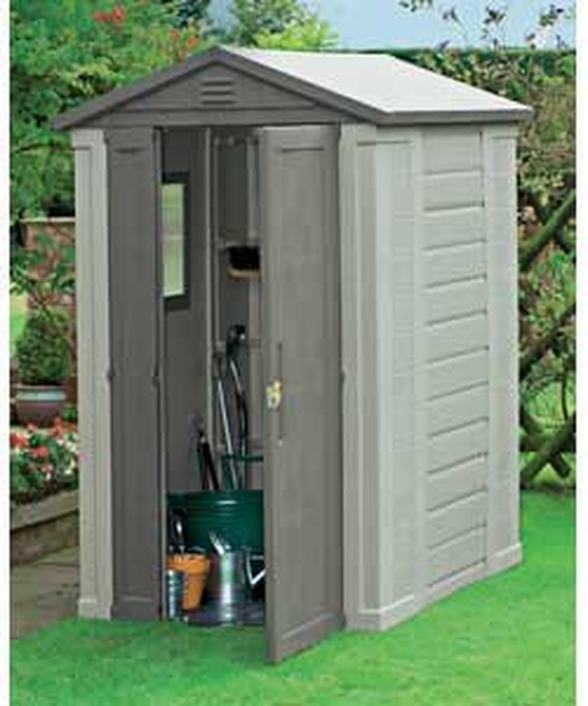 Erection Of Plastic Garden Shed