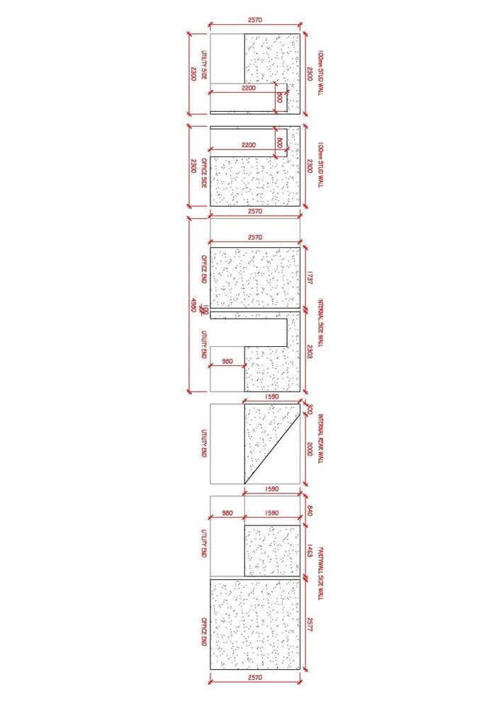 Garage Conversion Dry Line Amp Plaster Finish Plastering